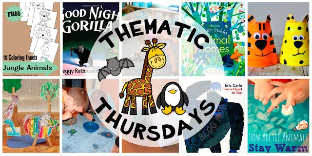 Recopilación de recursos con canciones, cuentos, imprimibles, experimentos, juegos y manualidades sobre los animales salvajes o animales del zoo