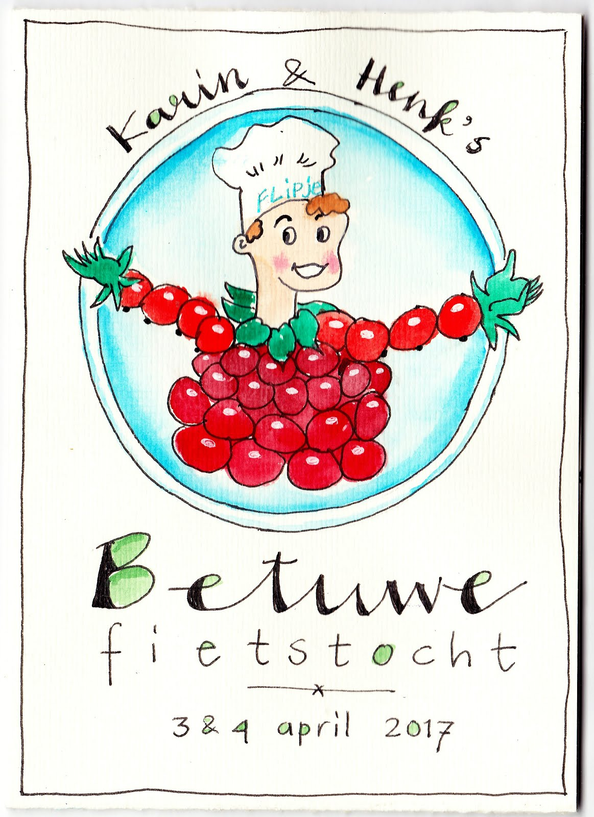 * Art-journal On The Road: Fietstocht Betuwe