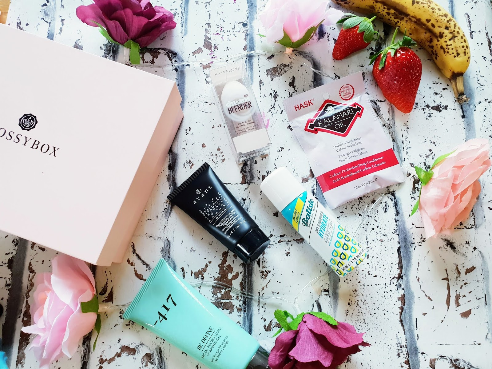 Glossybox January 2019  Review