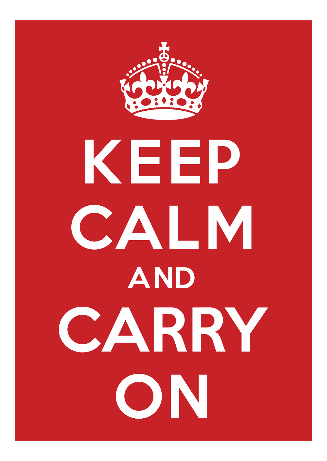 Keep Calm And Carry On Pdf