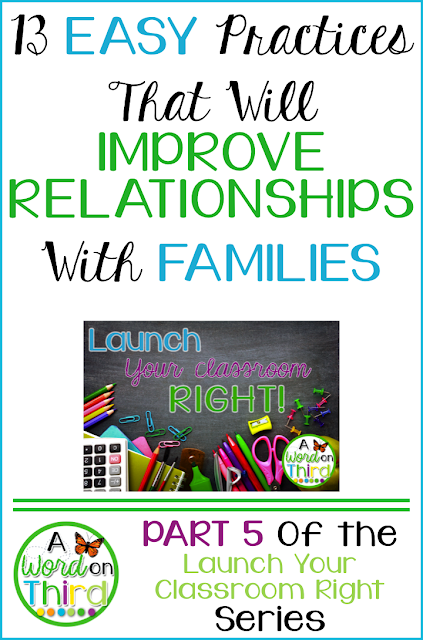 13 Easy Practices That Will Improve Relationships With Families by A Word On Third