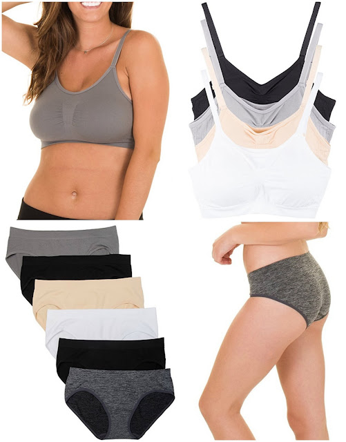 Amazon: Kalon Comfort Bras only $6 and Undies only $3.50!