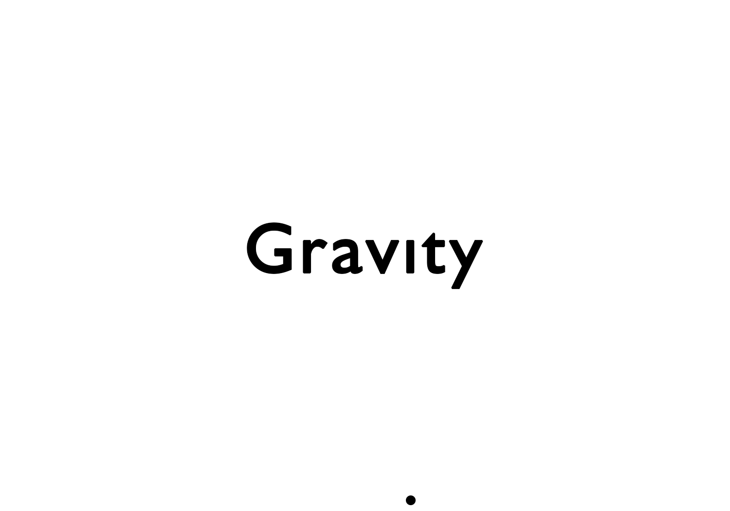Gravity Text Logo Design Inspiration