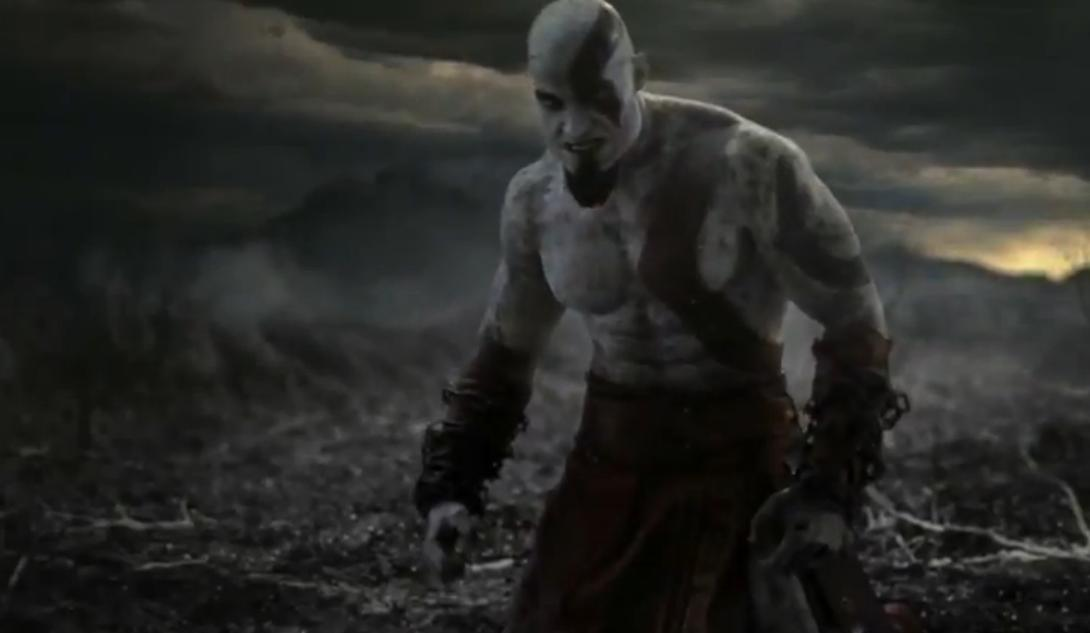 Is The God Of War Ascension Trailer Animated Video De One