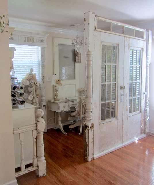 Distressed Doors To Dividers | Repurposed Furniture Projects In Time For Father's Day