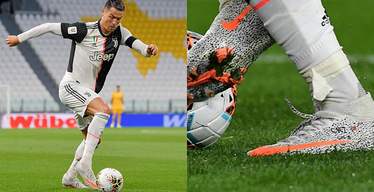 Cristiano Ronaldo Debuts Nike Mercurial Superfly Vii Safari Boots No Custom Sole Plate Footy Headlines