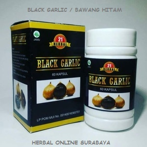 JUAL KAPSUL BAWANG HITAM/BLACK GARLIC DI SURABAYA