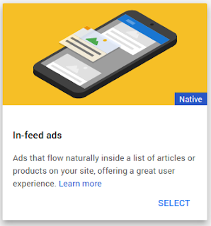 Cara Memasang Iklan InFeed di Halaman Blog