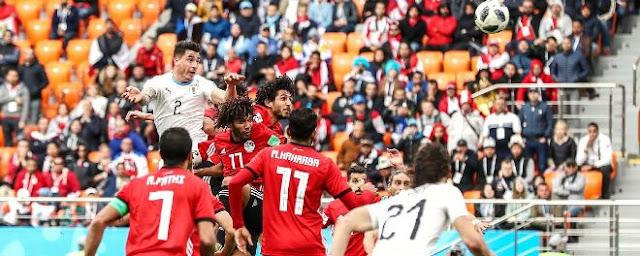 Video Ai Cập – Uruguay: Siêu sao bất ngờ, rực sáng phút 89 (World Cup 2018) 2