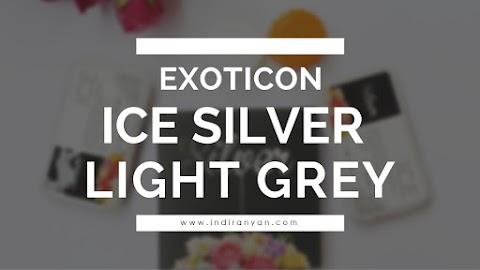 Contact Lenses : Exoticon Ice Silver - Light Grey