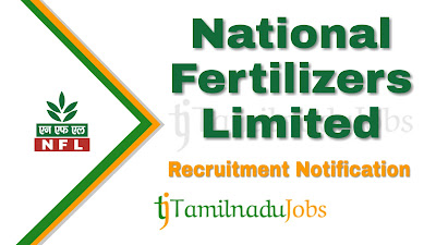 NFL Recruitment 2019 , NFL Recruitment Notification 2019, Latest NFL Recruitment
