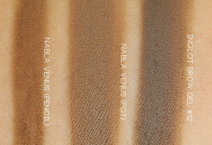 Nabla Cosmetics Brow Pot Venus swatch