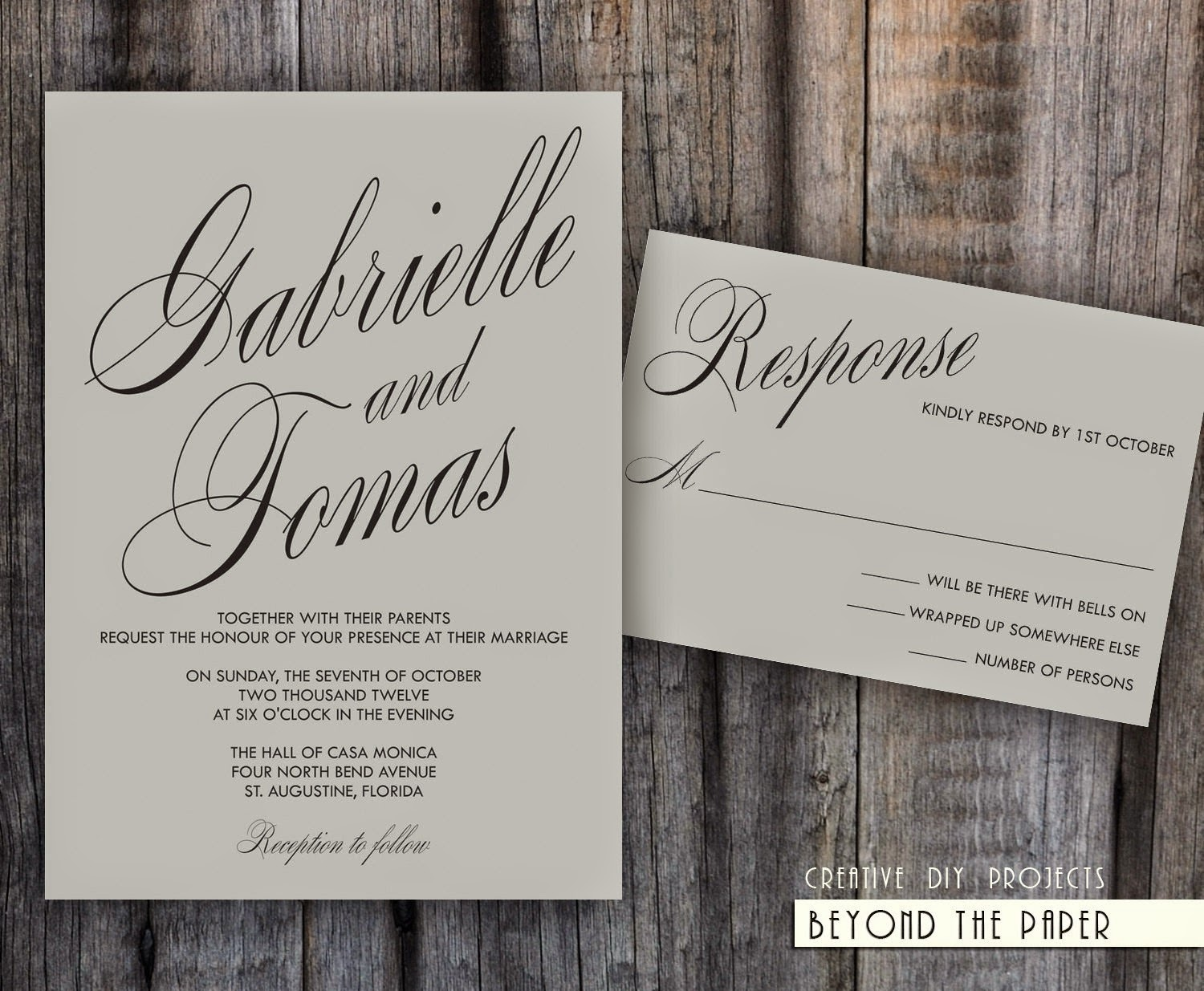 Template Invitation Wedding: Cheap Wedding Invitations: 50 Of The Best Wedding