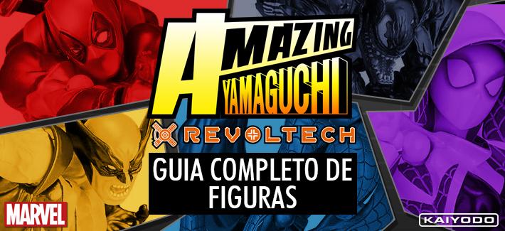 AMAZING YAMAGUCHI - GUIA COMPLETO DE FIGURAS