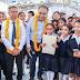 """Inaugura  Astudillo Flores  las nuevas instalaciones de la escuela """"Raúl Isidro Burgos"""" en  Chilpancingo."""