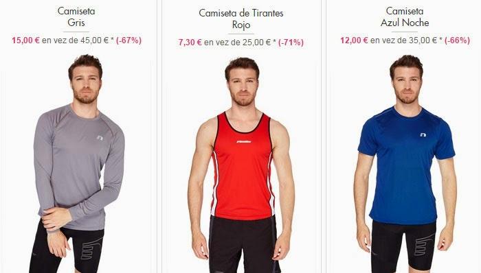 Camisetas de deporte para hombre