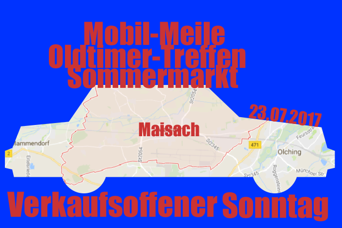 shops blog verkaufsoffener sonntag in maisach mit sommermarkt mobil meile und. Black Bedroom Furniture Sets. Home Design Ideas