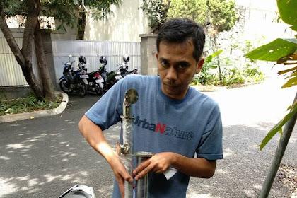 Pesanan Handrail Pak Burhan Di Jakarta Selatan