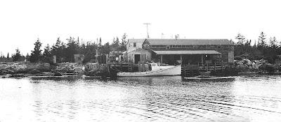 Long Cove circa 1950's. Photo by Ralph Morton