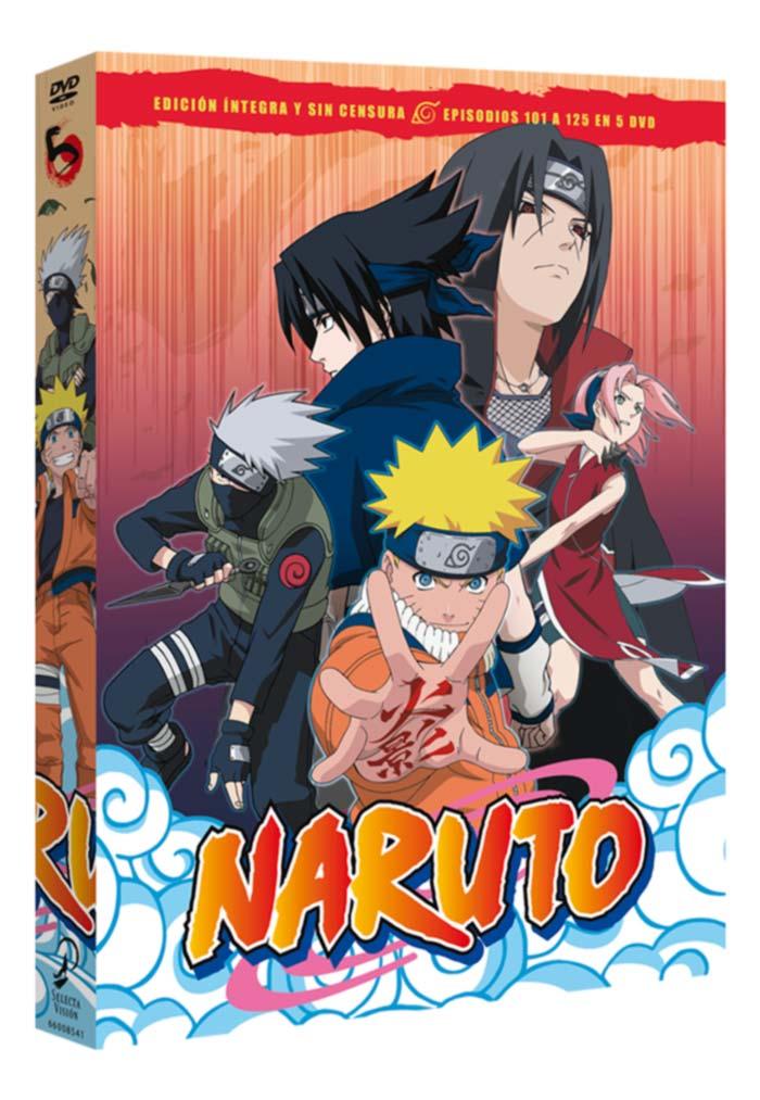 Naruto DVD (Selecta Vision)