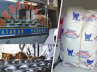 Nasi Padang Saat Dibungkus Kok Isinya Lebih Banyak? Ternyata Begini Alasannya yang Bikin Bengong