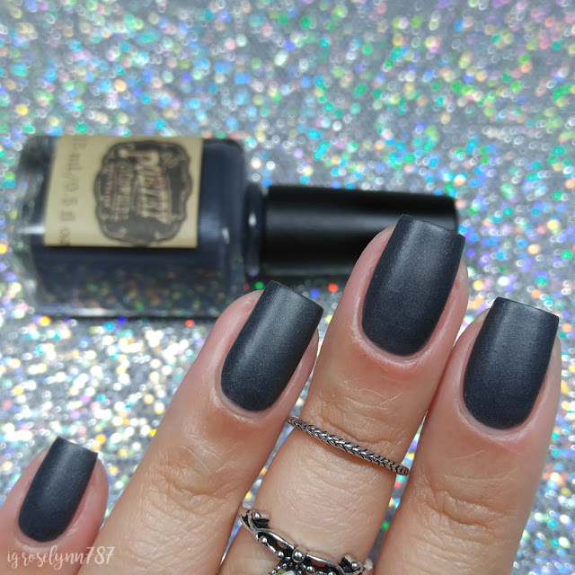 Poetry Cowgirl Nail Polish - To The Chalkboard