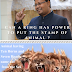 Can a King has Power to put the Stamp of Animal ?
