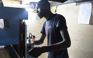 Building Makerspaces for the 4th Industrial Revolution in Africa