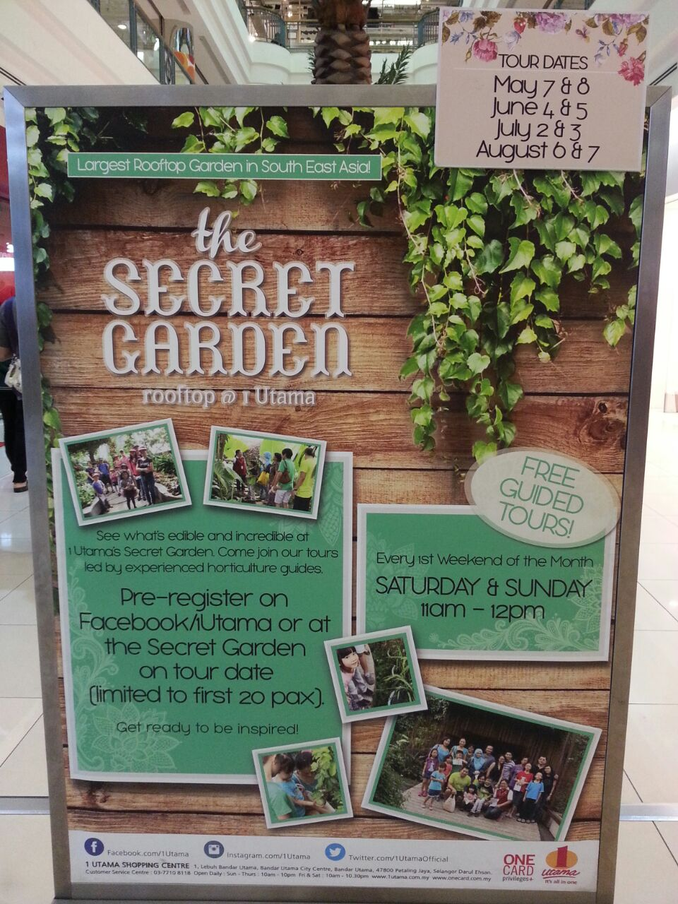 Outstation Might Get You Trap N Traffic And Yes We Are Going To The Secret Garden Of 1 Utama