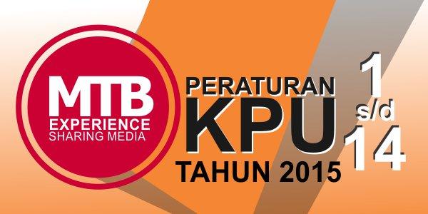 PKPU Nomor 1 Sampai Nomor 14 Tahun 2015 (lengkap)