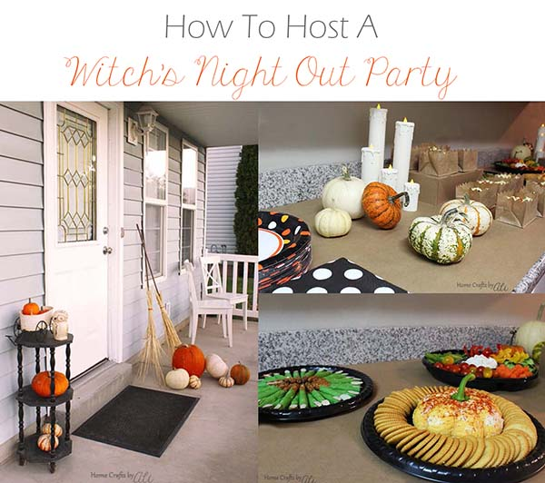 party decoration food game ideas for girls night halloween