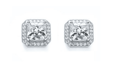 Jewellery every woman should own: Bouton Sqaure Diamond Stud Earrings