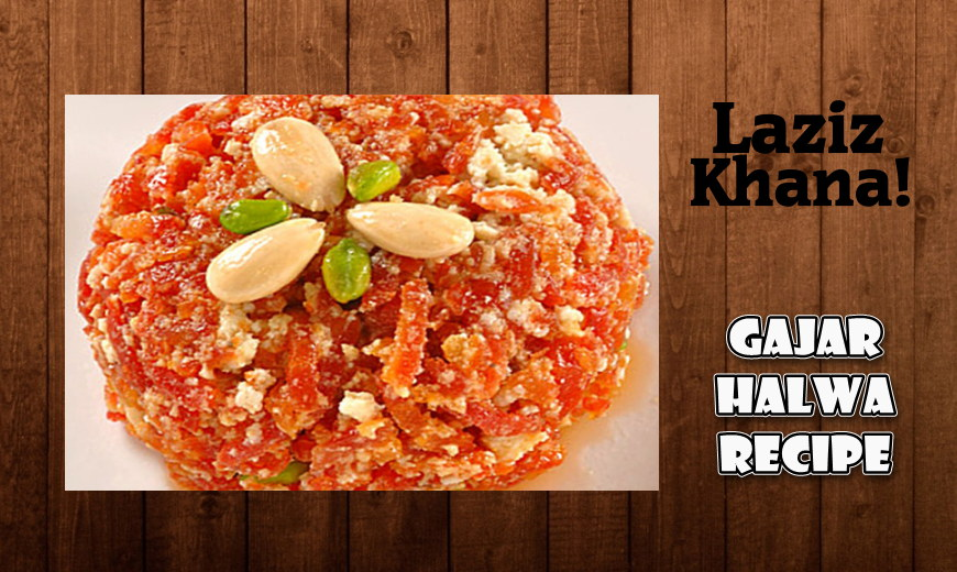 Gajar Halwa Recipe in Roman English - Gajar Halwa Banane ka Tarika