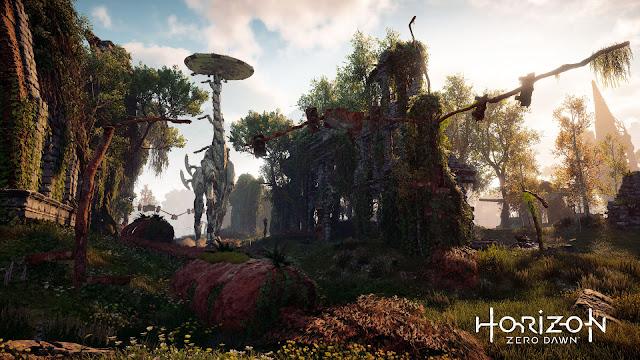 Creando el mundo de Horizon: Zero Dawn