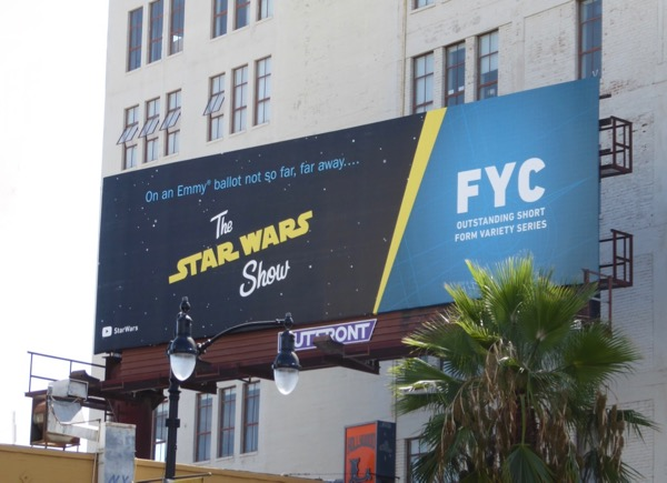 Star Wars show 2017 Emmy nominee billboard