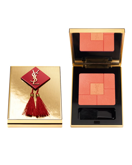 YSL Chinese New Year Blush Volupté Palette Review