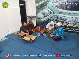 Ikhtitam Sementara Program Kerja Harian Al-Farabi sekaligus Kajian bersama Ustad Mukhlis