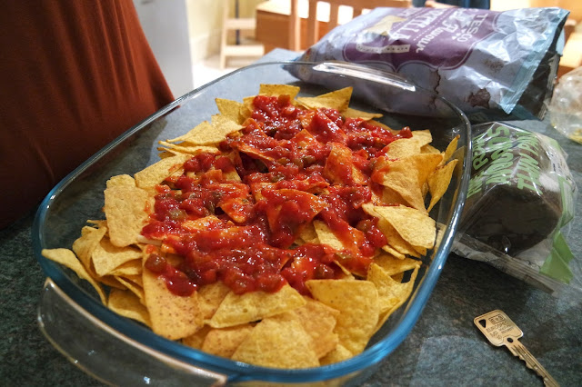 Nachos With Salsa #PLBSlumberParty