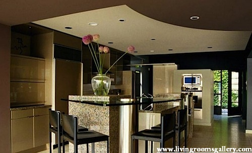 Full False Ceiling for dining rooms with elegant design