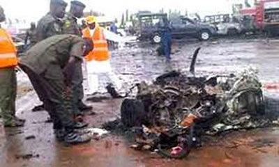 boko haram suicide bombers kills 4