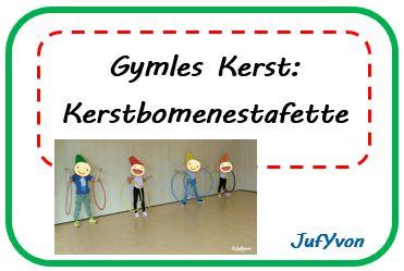 New JufYvon: Gymles Kerst: Kerstbomenestafette @JV73