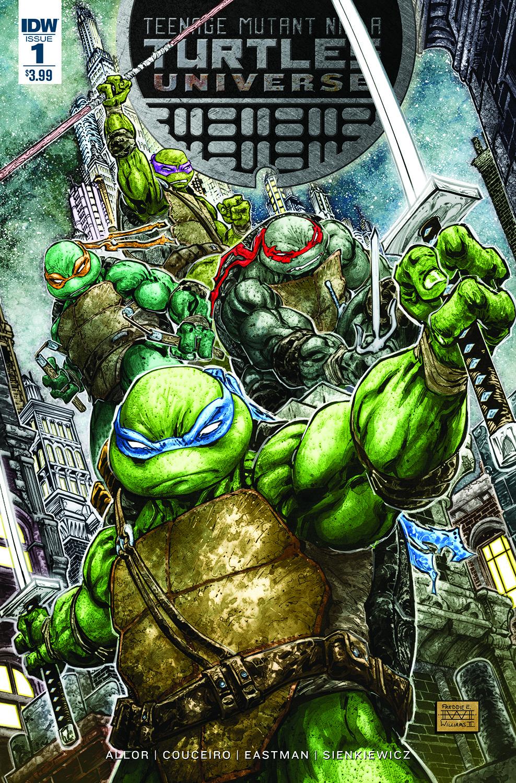 """... Expands TMNT Comic World With """"Teenage Mutant Ninja Turtles Universe"""