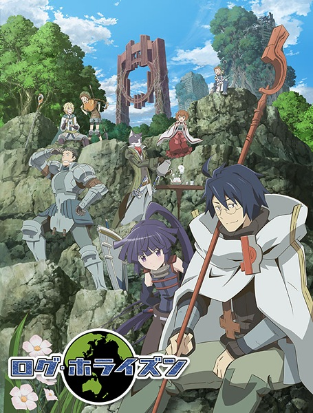 Log Horizon Season 01, 02