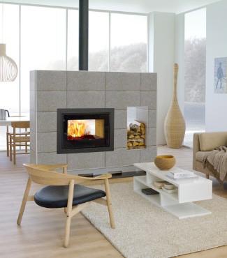 villa fagerbakken ny peis. Black Bedroom Furniture Sets. Home Design Ideas