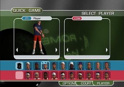 斐樂杯網球巡迴賽(Fila World Tour Tennis),很不錯的運動競技!