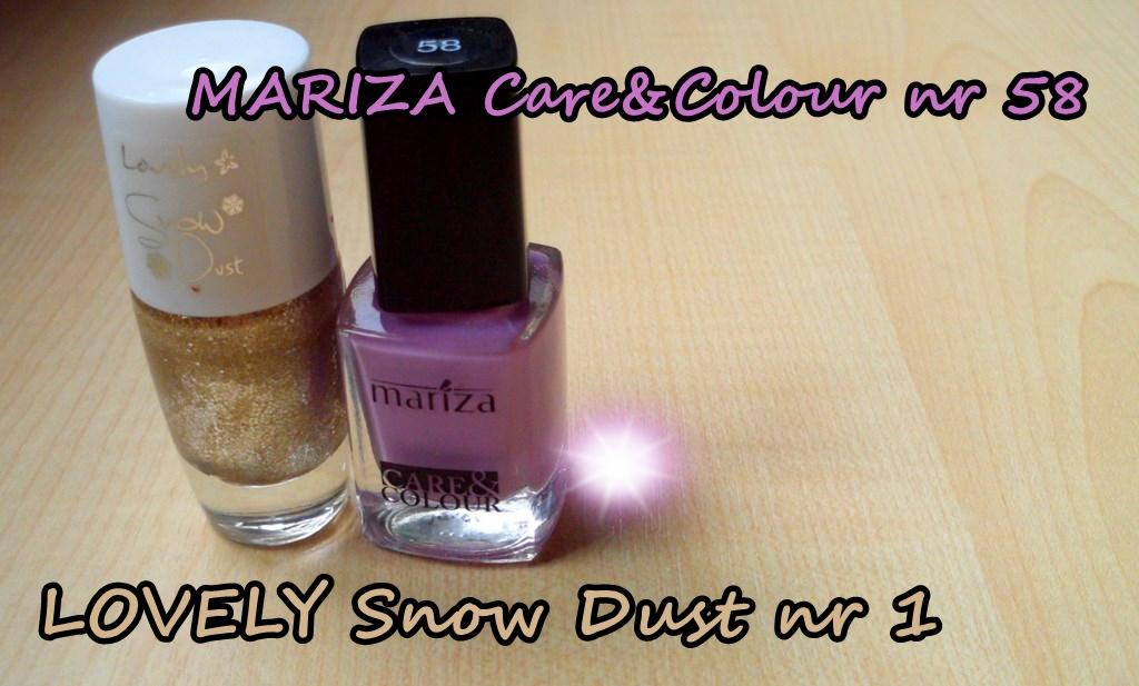 Mariza Care&Colour + Lovely Snow Dust