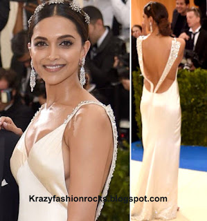 Deepika Padukone Red Carpet Gown