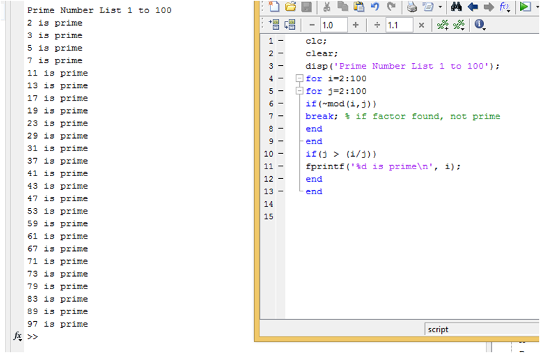 Java Program to display first n or first 100 prime numbers
