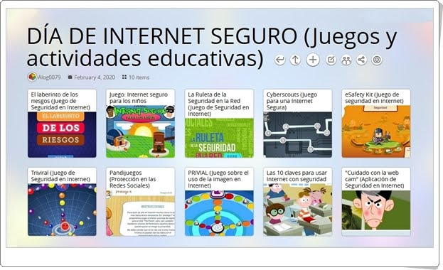 10 juegos y actividades educativas para la celebración del DÍA DE INTERNET SEGURO (11 de febrero)