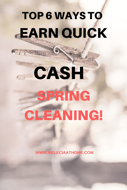 Make Money Spring Cleaning